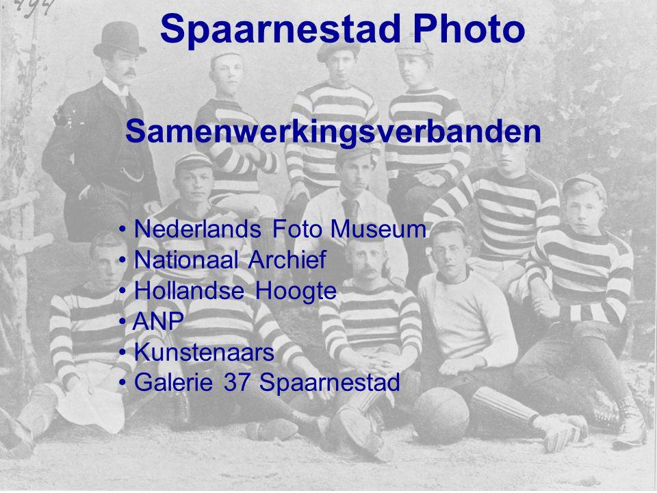 Spaarnestad Photo Samenwerkingsverbanden Nederlands Foto Museum Nationaal Archief Hollandse Hoogte ANP Kunstenaars Galerie 37 Spaarnestad