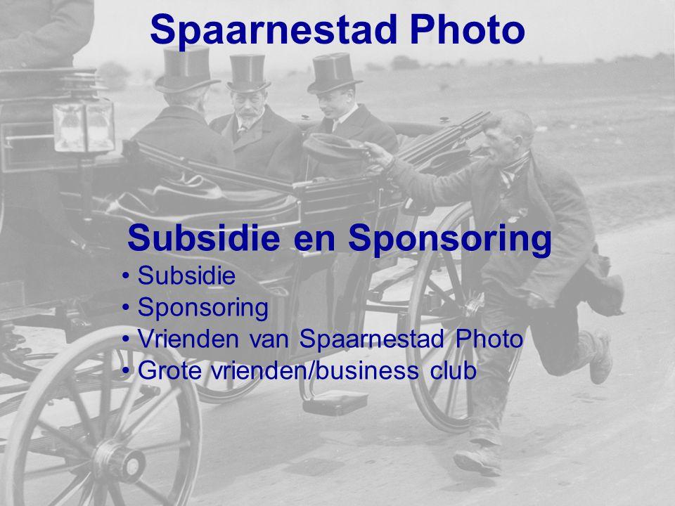 Spaarnestad Photo Subsidie en Sponsoring Subsidie Sponsoring Vrienden van Spaarnestad Photo Grote vrienden/business club