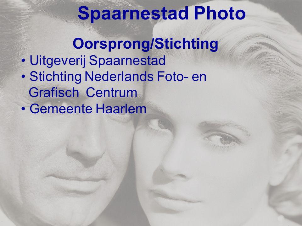 Spaarnestad Photo Oorsprong/Stichting Uitgeverij Spaarnestad Stichting Nederlands Foto- en Grafisch Centrum Gemeente Haarlem