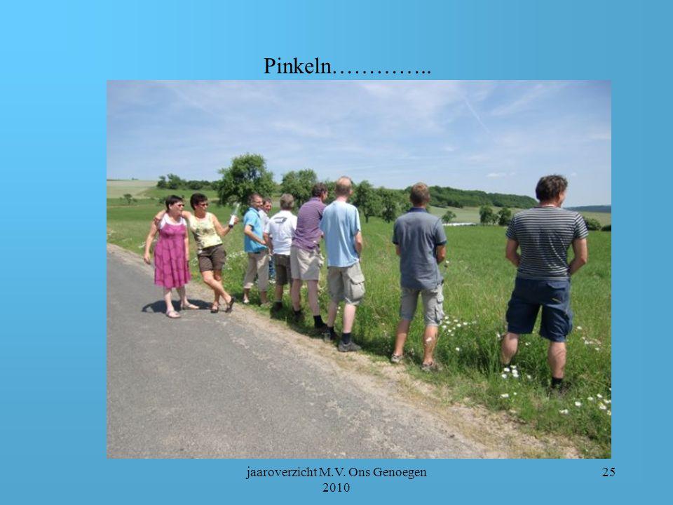 jaaroverzicht M.V. Ons Genoegen 2010 24 Ruheplatz am Bauernhof