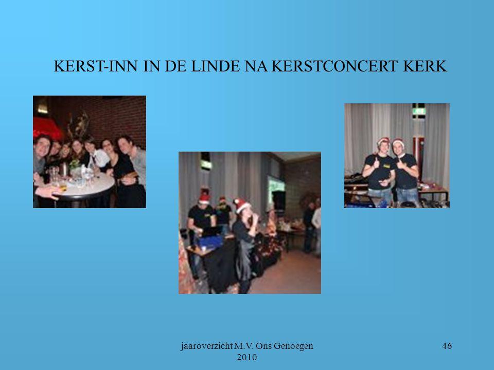 jaaroverzicht M.V. Ons Genoegen 2010 45 Sante Claus……….
