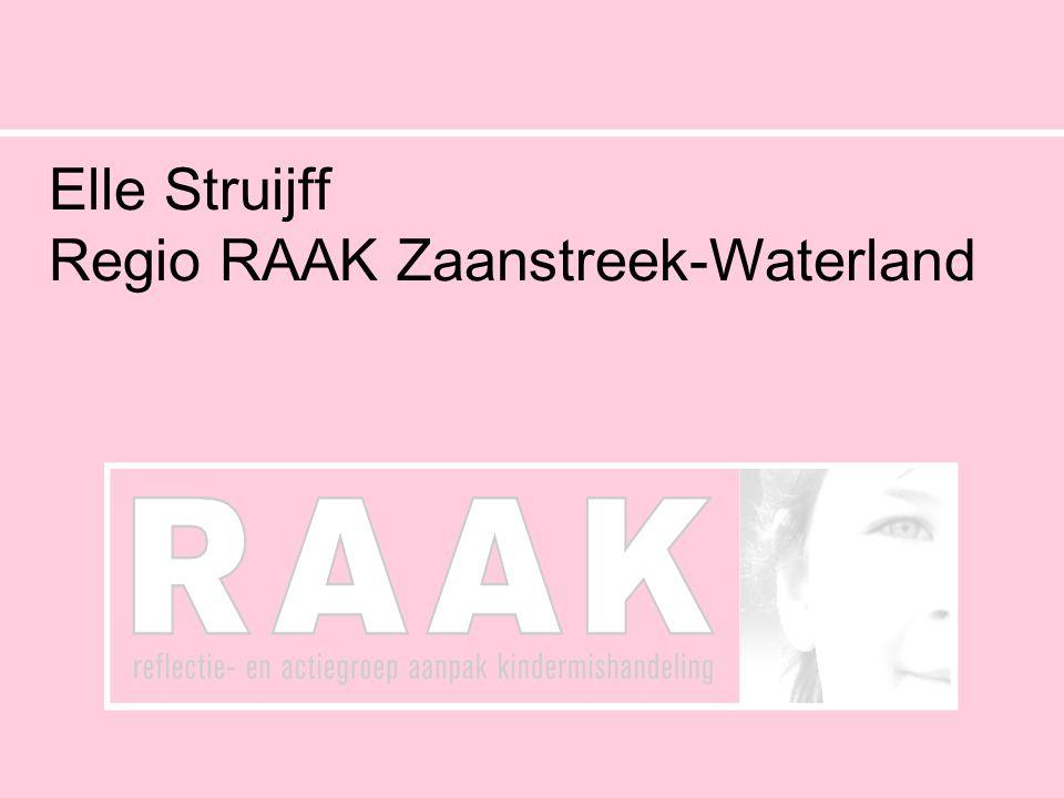 Tussenrapportage Elle Struijf Zaanstreek-Waterland