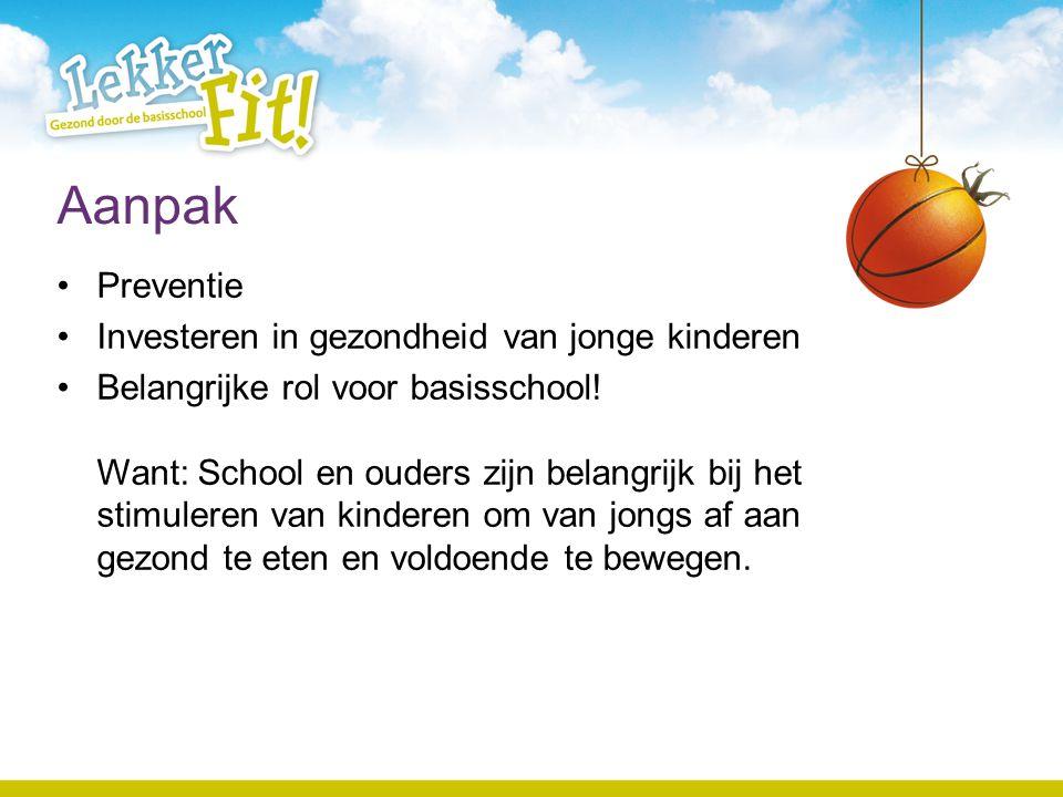 Verdere info www.lekkerfitopschool.nl Digitale nieuwsbrief Lekker Fit.
