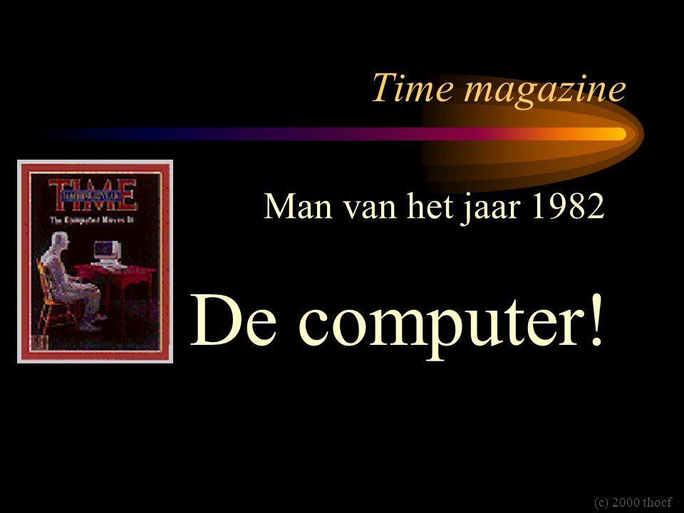 Time magazine De computer! Man van het jaar 1982 (c) 2000 thocf