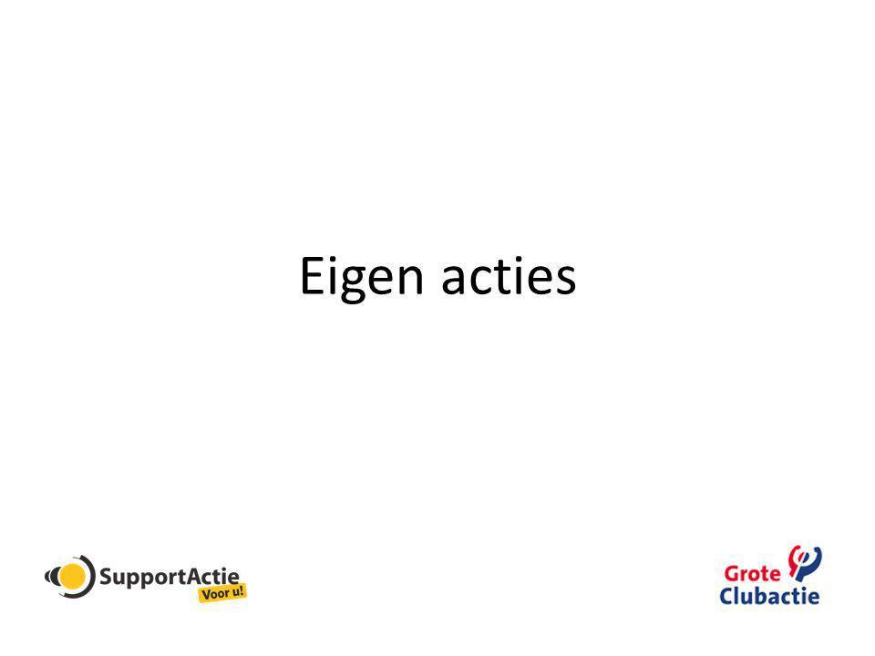 Periodieke schenking Roei- en zeilvereniging De Amstel
