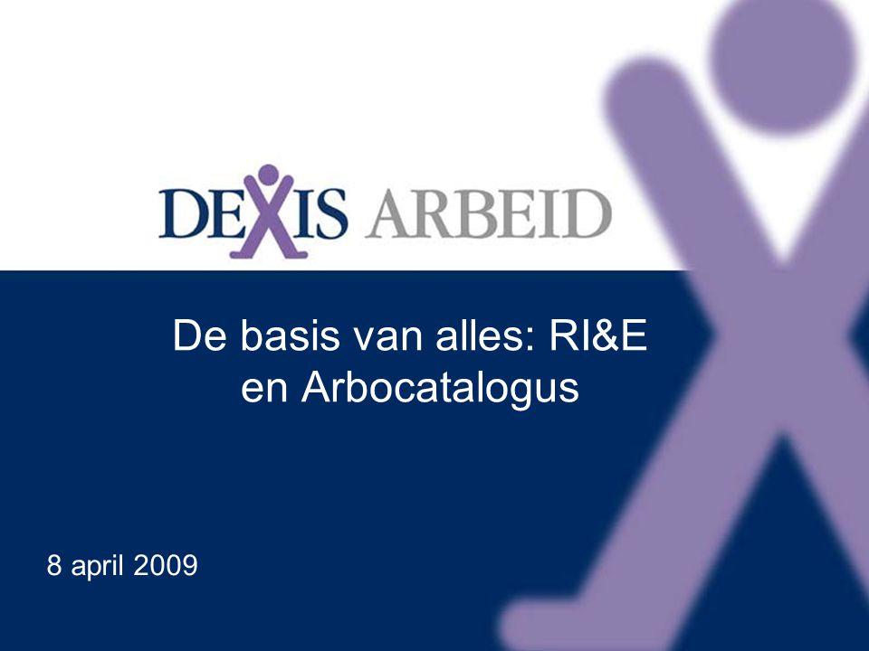 Klik om het opmaakprofiel van de modeltitel te bewerken Klik om de opmaakprofielen van de modeltekst te bewerken Tweede niveau Derde niveau Vierde niveau Vijfde niveau 14 De basis van alles: RI&E en Arbocatalogus 8 april 2009