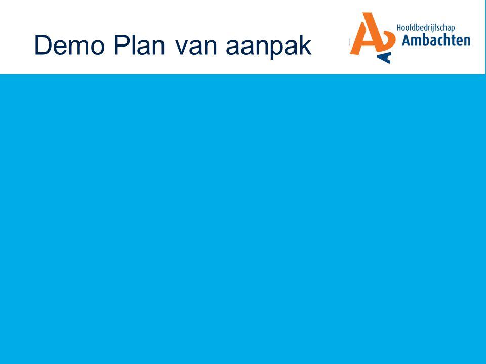 Demo Plan van aanpak