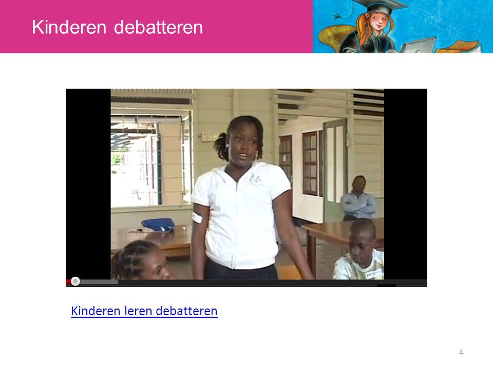 Kinderen debatteren Kinderen leren debatteren 4