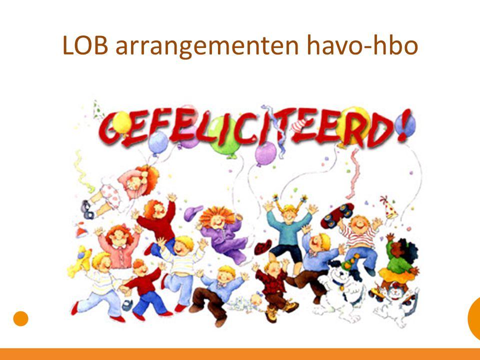 LOB arrangementen havo-hbo