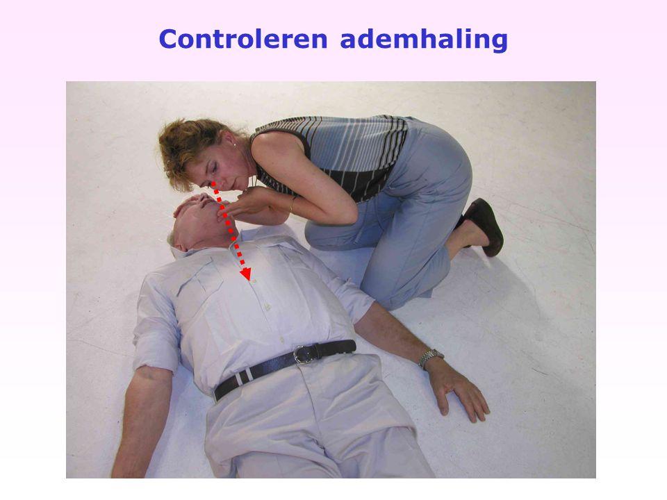 Controleren ademhaling