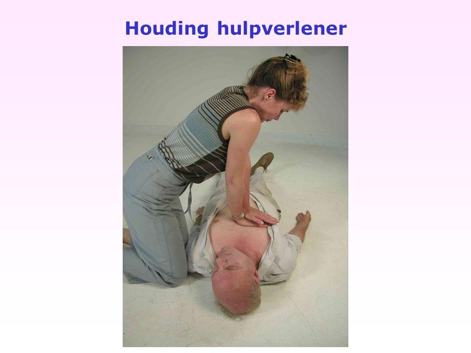 Houding hulpverlener
