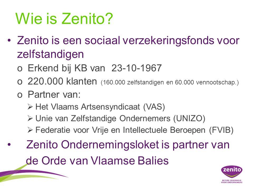 Wat doet Zenito voor jou.