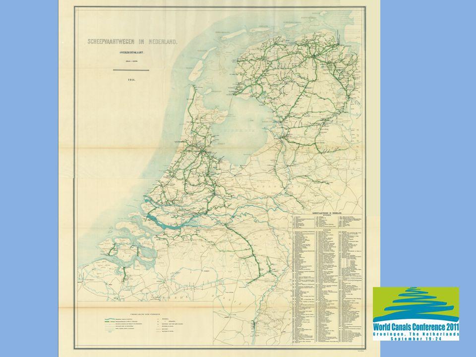 Het fijnmazige netwerk van waterwegen