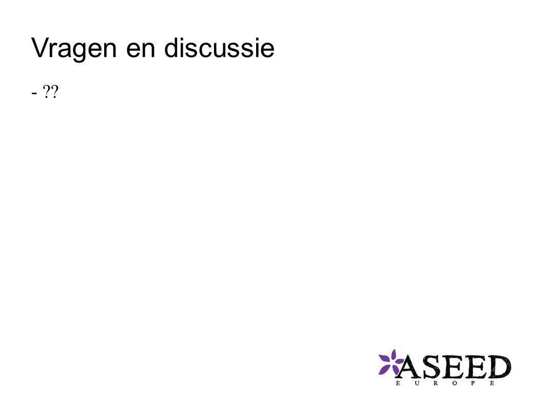 Vragen en discussie -