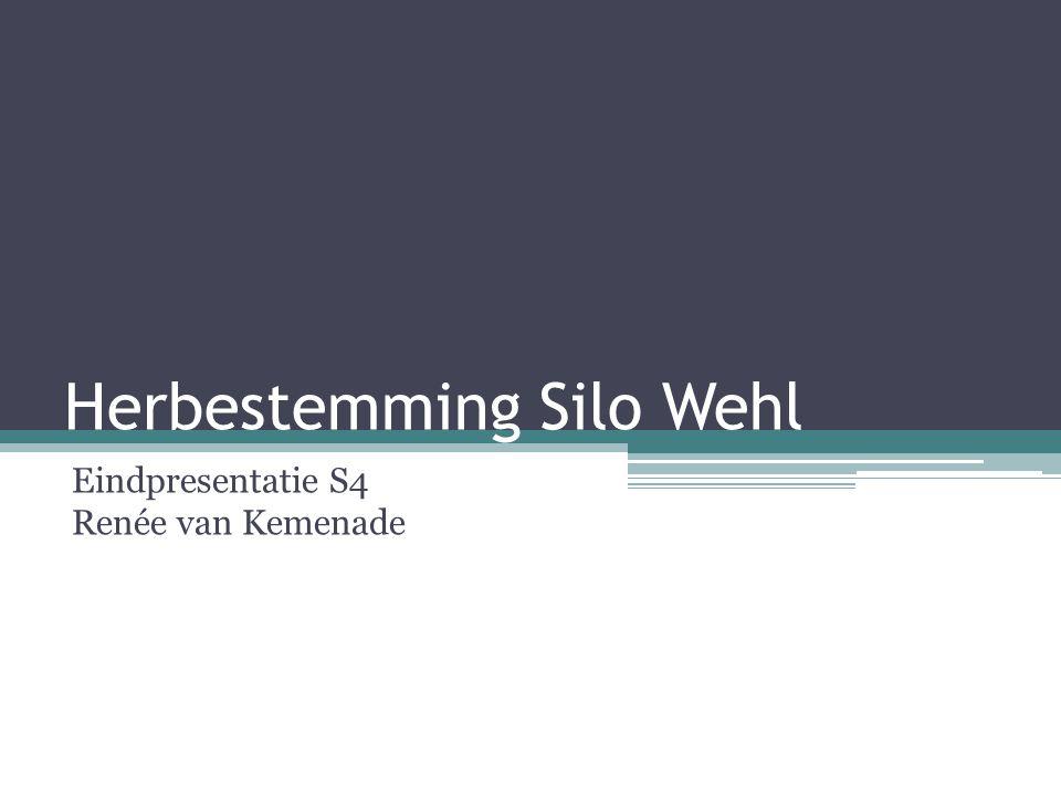 Herbestemming Silo Wehl Eindpresentatie S4 Renée van Kemenade
