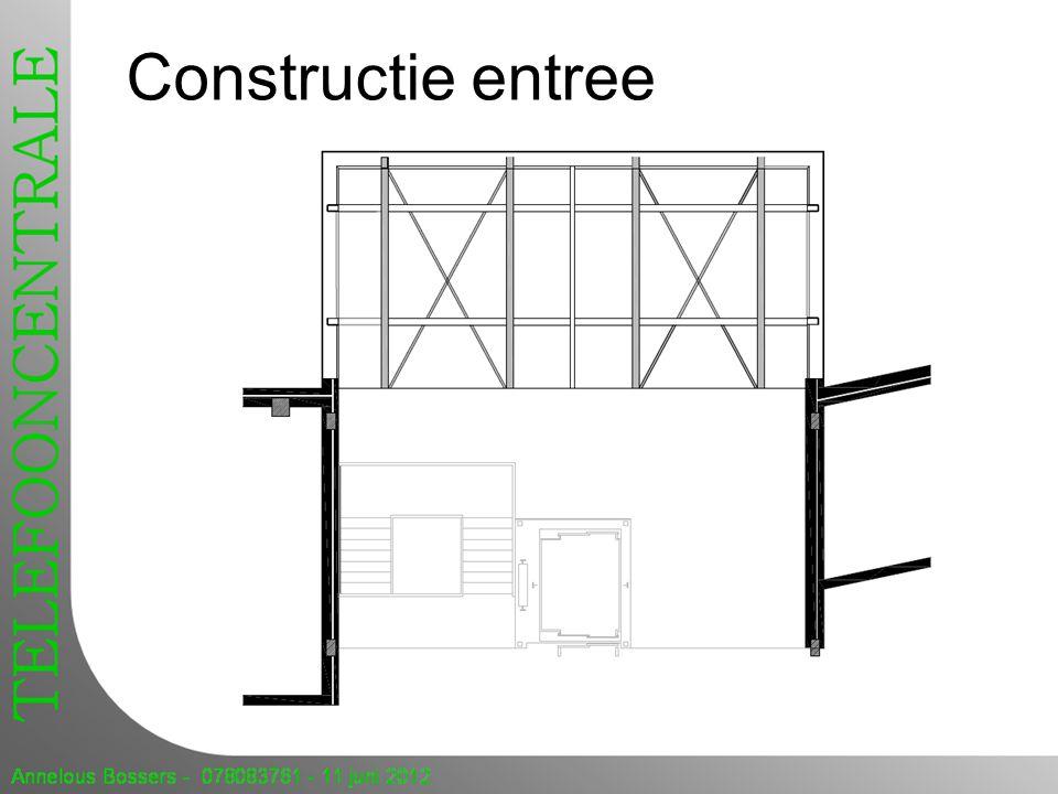 Constructie entree