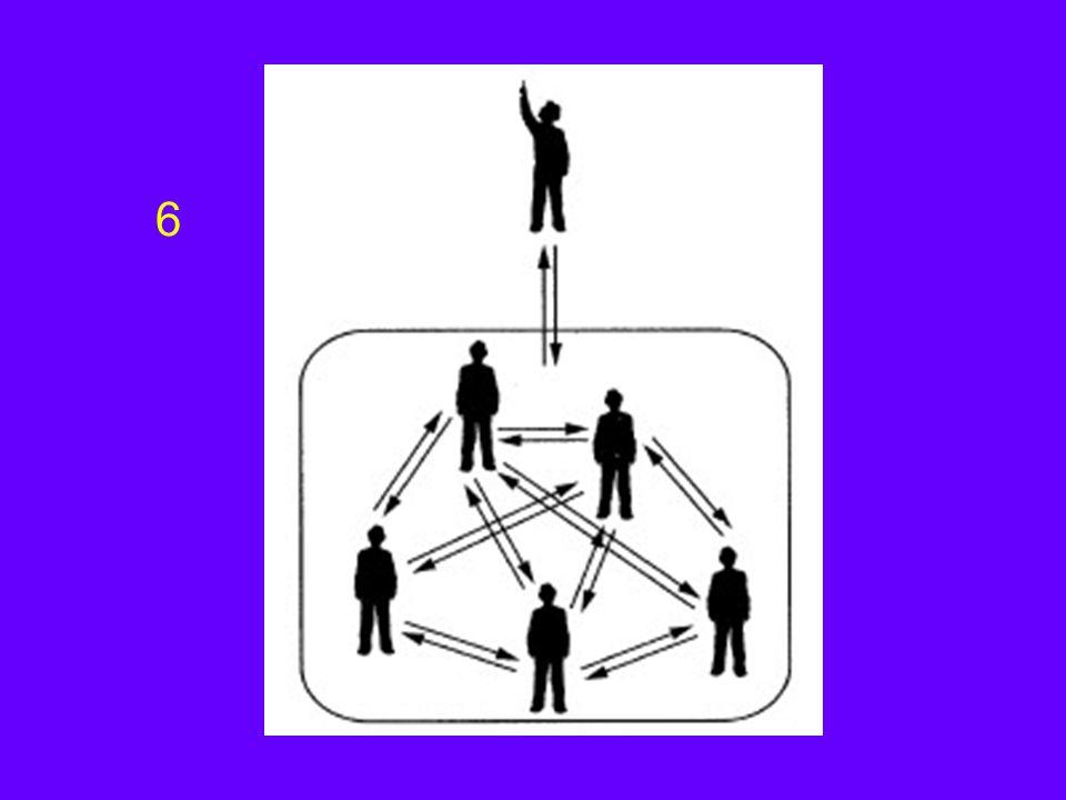 Oriëntatiefase Afhankelijk gedrag van leiding en sturing Aansluiting op bestaande structuren en procedures (waarom lijkt dit niet op les..?) Vragen en onzekerheden rond 'eigen' positie in de groep Helder krijgen van taak Vertrouwen en acceptatie Aarzelende ontwikkeling van eigen taakstructuur
