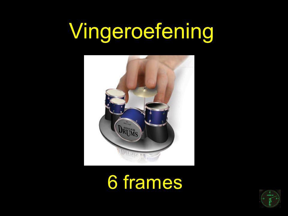 6 frames Vingeroefening