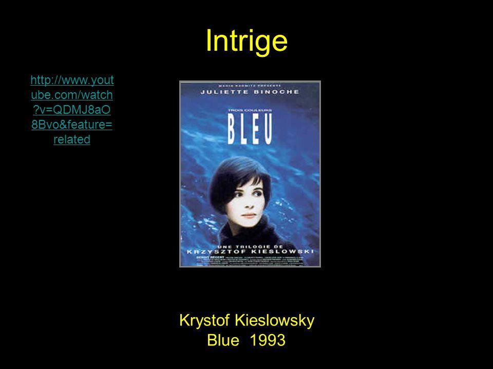 Intrige Krystof Kieslowsky Blue 1993 http://www.yout ube.com/watch ?v=QDMJ8aO 8Bvo&feature= related