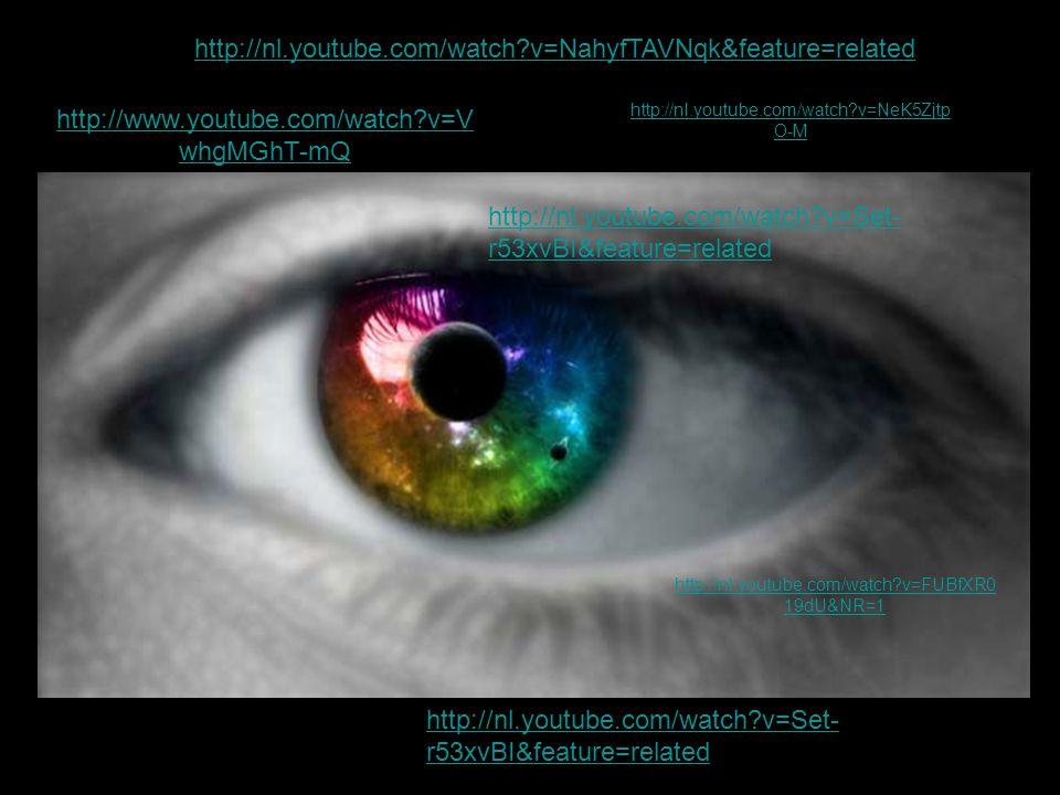 http://www.youtube.com/watch?v=V whgMGhT-mQ http://nl.youtube.com/watch?v=NeK5Zjtp O-M http://nl.youtube.com/watch?v=FUBfXR0 19dU&NR=1 http://nl.youtu