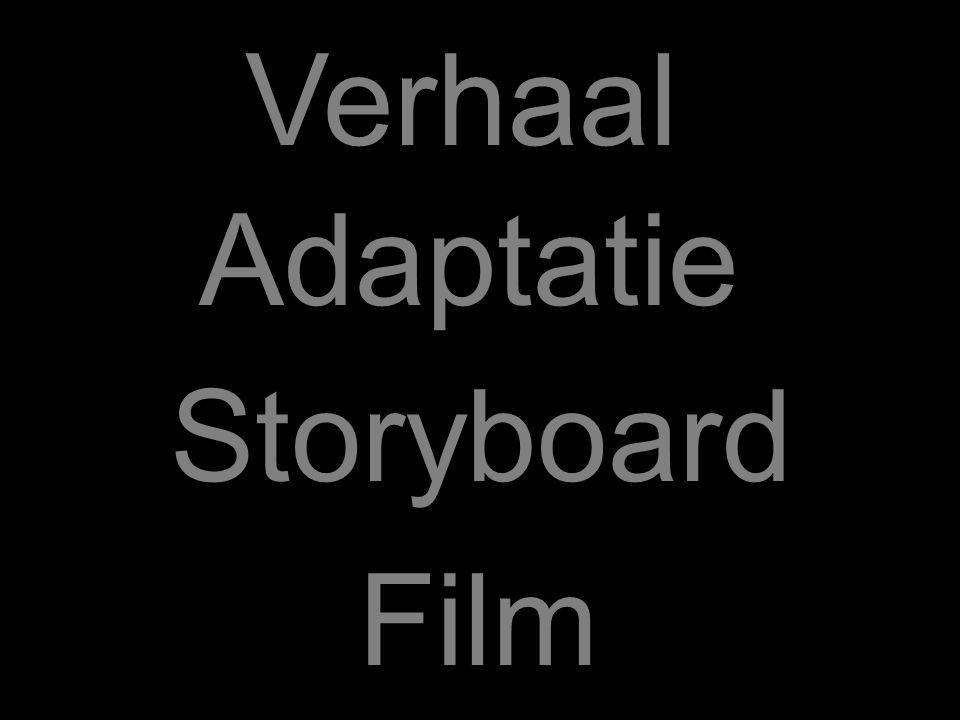 Storyboard Adaptatie Film Verhaal
