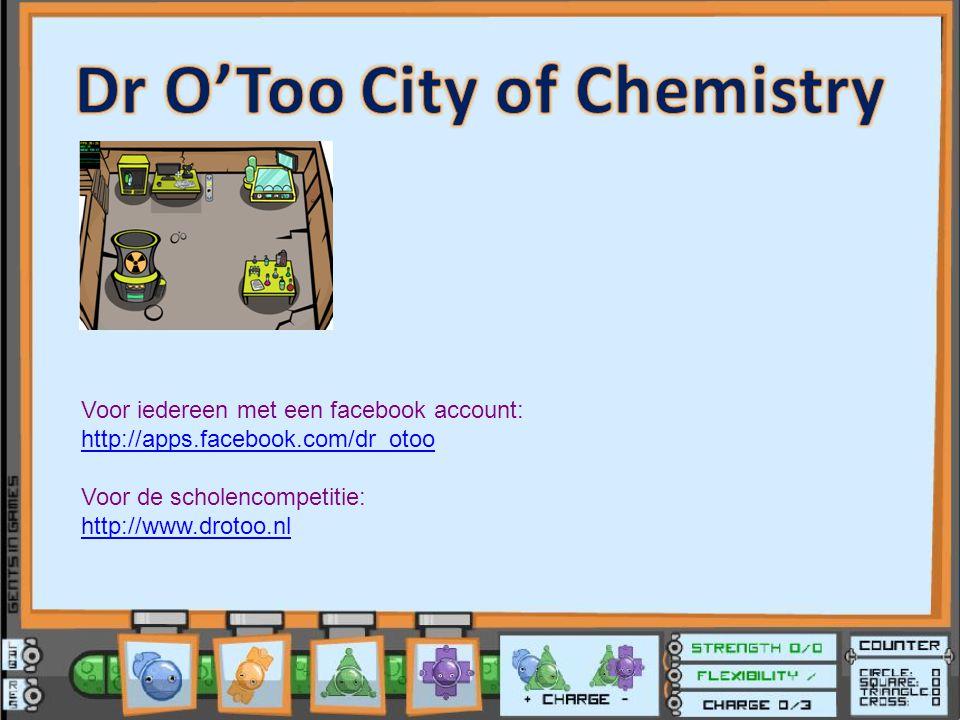 Voor iedereen met een facebook account: http://apps.facebook.com/dr_otoo Voor de scholencompetitie: http://www.drotoo.nl