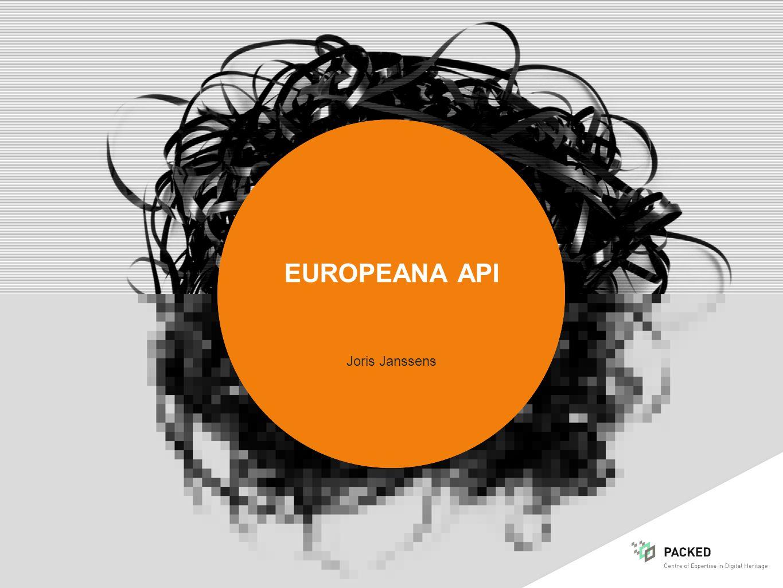 EUROPEANA API Joris Janssens