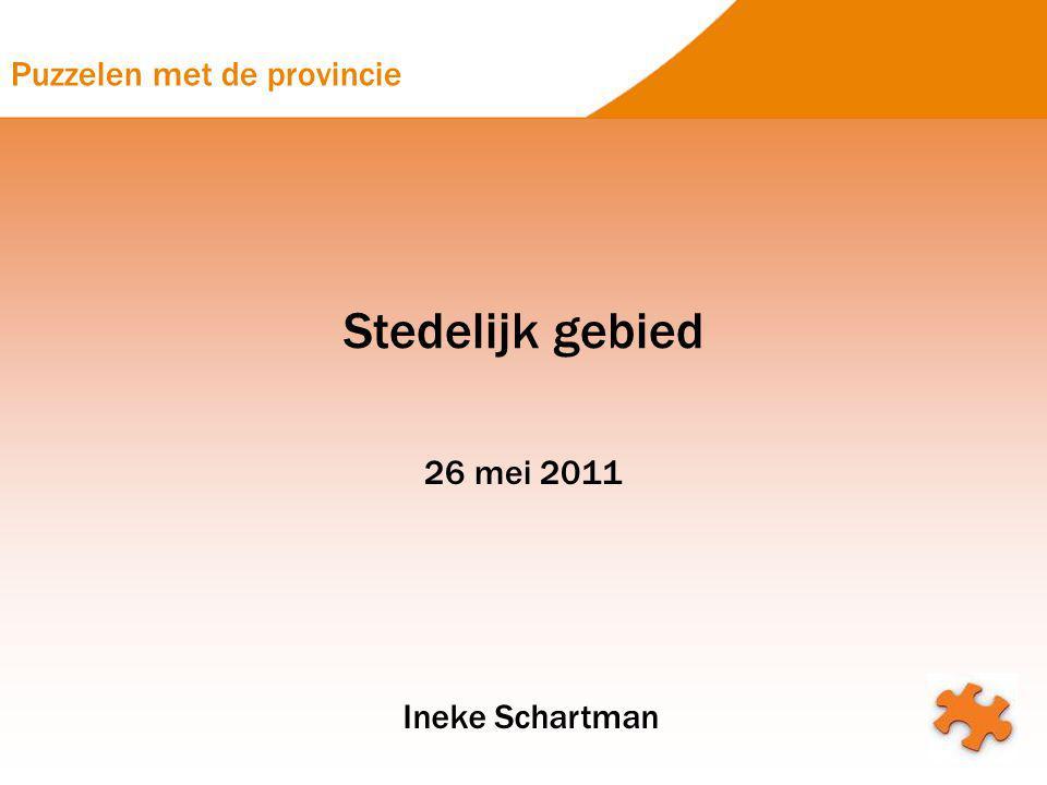 Stedelijk gebied 26 mei 2011 Ineke Schartman