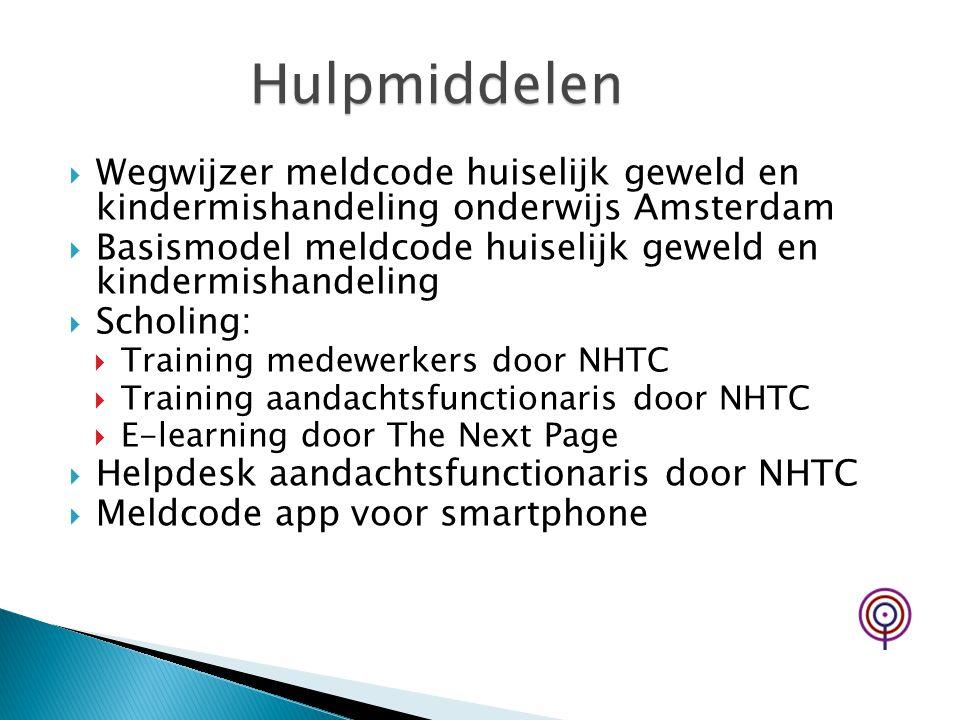  Wegwijzer meldcode huiselijk geweld en kindermishandeling onderwijs Amsterdam  Basismodel meldcode huiselijk geweld en kindermishandeling  Scholin