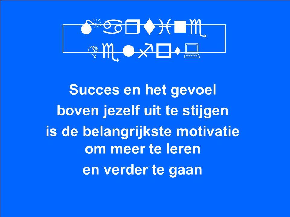 Martine Delfos: Succes en het gevoel boven jezelf uit te stijgen is de belangrijkste motivatie om meer te leren en verder te gaan