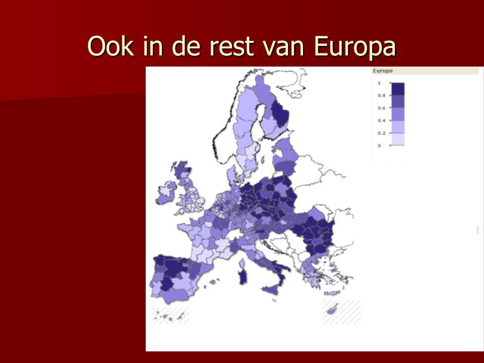 Ook in de rest van Europa