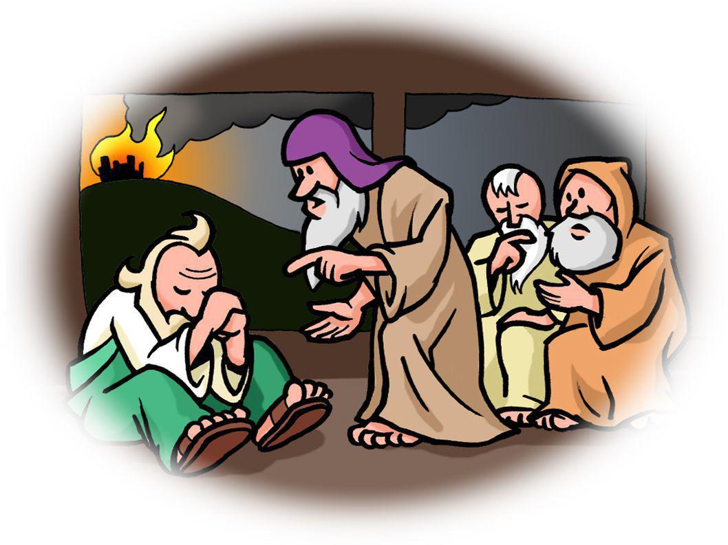 Job 38 :1 – 4 1 En de HEER antwoordde Job vanuit een storm.