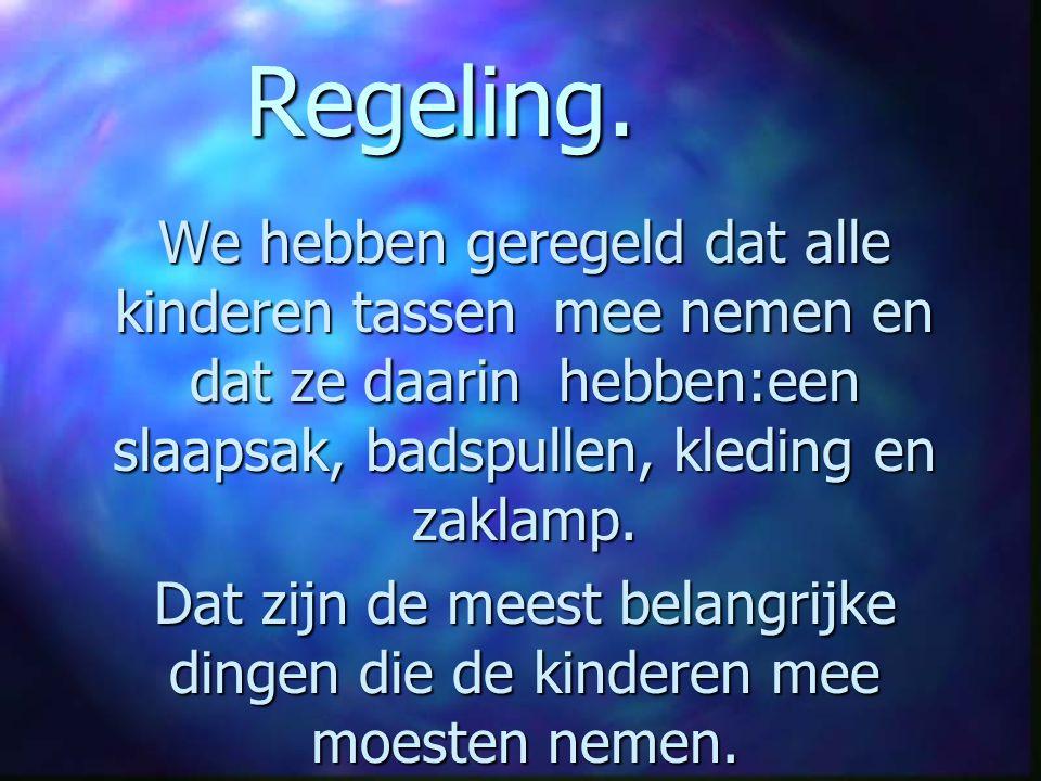 Regeling.