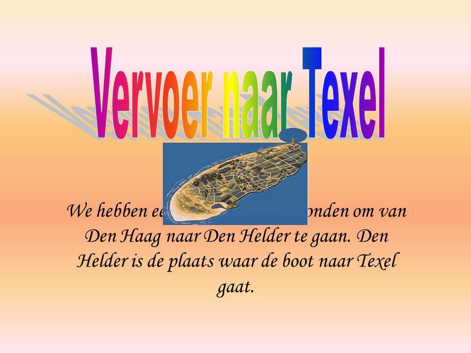 We hebben een snelle manier gevonden om van Den Haag naar Den Helder te gaan.