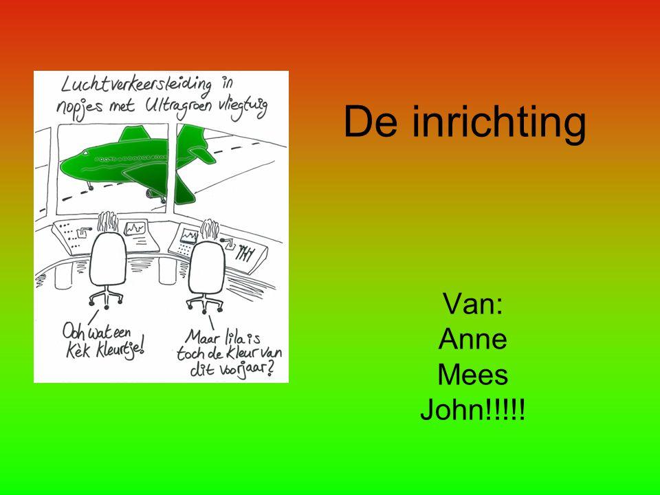 De inrichting Van: Anne Mees John!!!!!