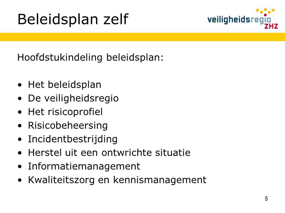 6 Het beleidsplan Gaat over het plan zelf Grondslagen Plandoelstelling Partners Wijze van besluitvorming Beleidsafstemming leeswijzer
