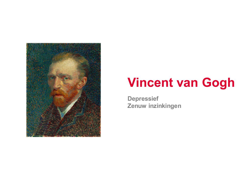 Vincent van Gogh Depressief Zenuw inzinkingen