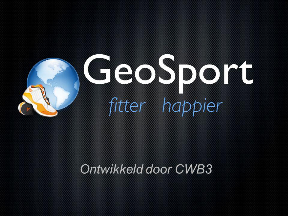 Opbouw Presentatie 1.Wat is GeoSport.