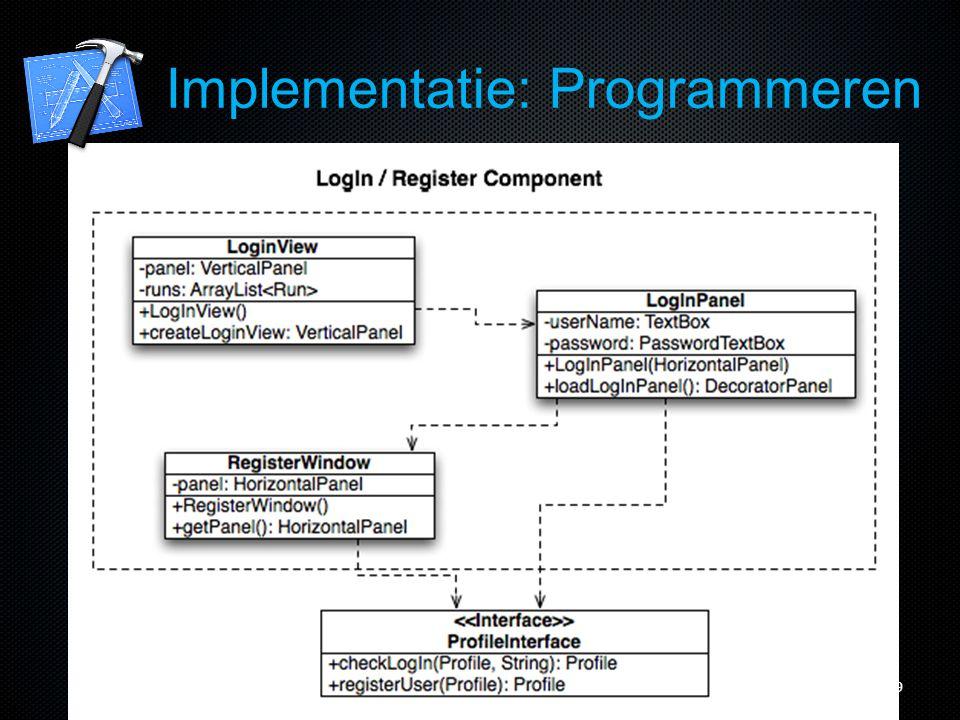 20 Implementatie: Programmeren