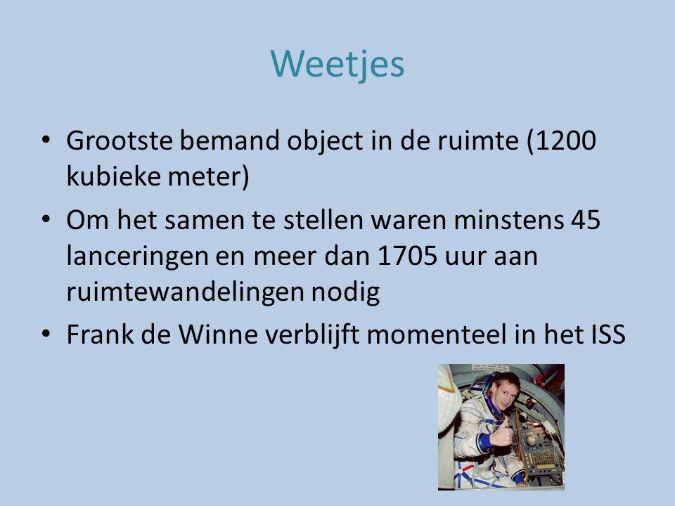 Bronnen http://www.slideshare.net/sriramkrish85/iss http://mediatheek.thinkquest.nl/~lld211/printarticle.