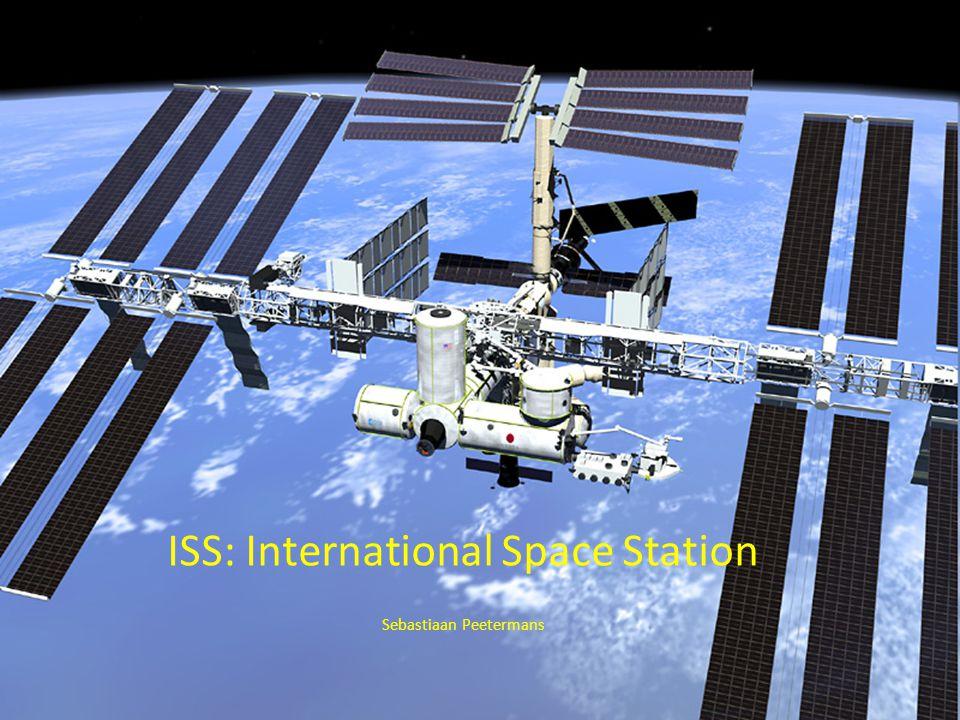 Wat is het ISS.Het internationaal ruimtestation ISS is een ruimtestation in een baan om de aarde.
