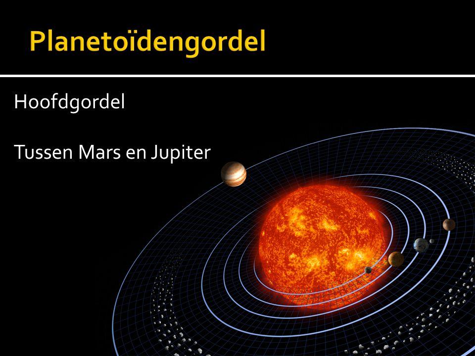 Hoofdgordel Tussen Mars en Jupiter