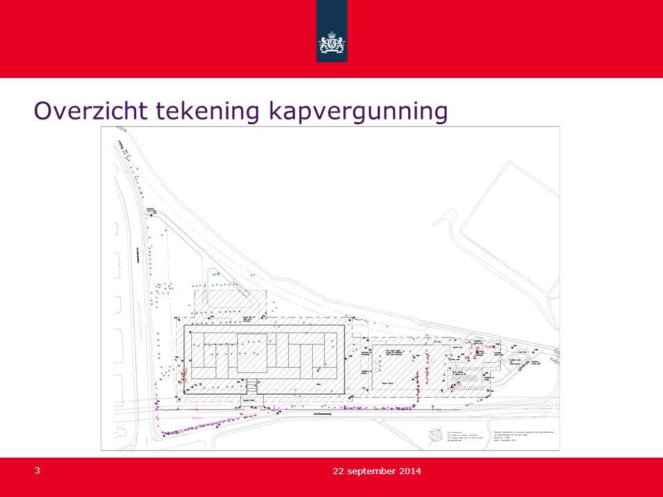 3 22 september 2014 Overzicht tekening kapvergunning