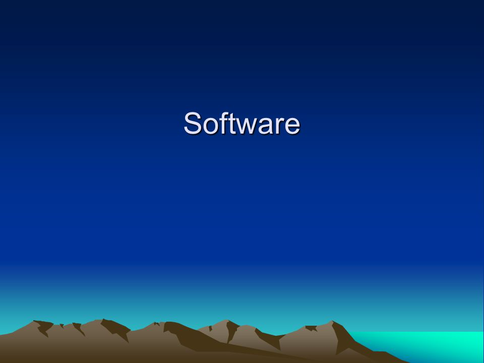 Software Kernel Middleware Application Execution Environment (AEE) User Interface Framework Application Suite