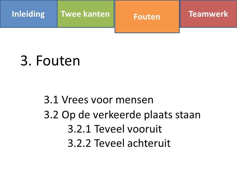 InleidingFoutenTwee kanten Teamwerk 3.