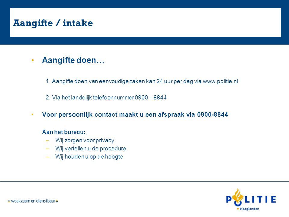 Aangifte Aangifte winkeldiefstal onbekende dader. –Via www.politie.nlwww.politie.nl