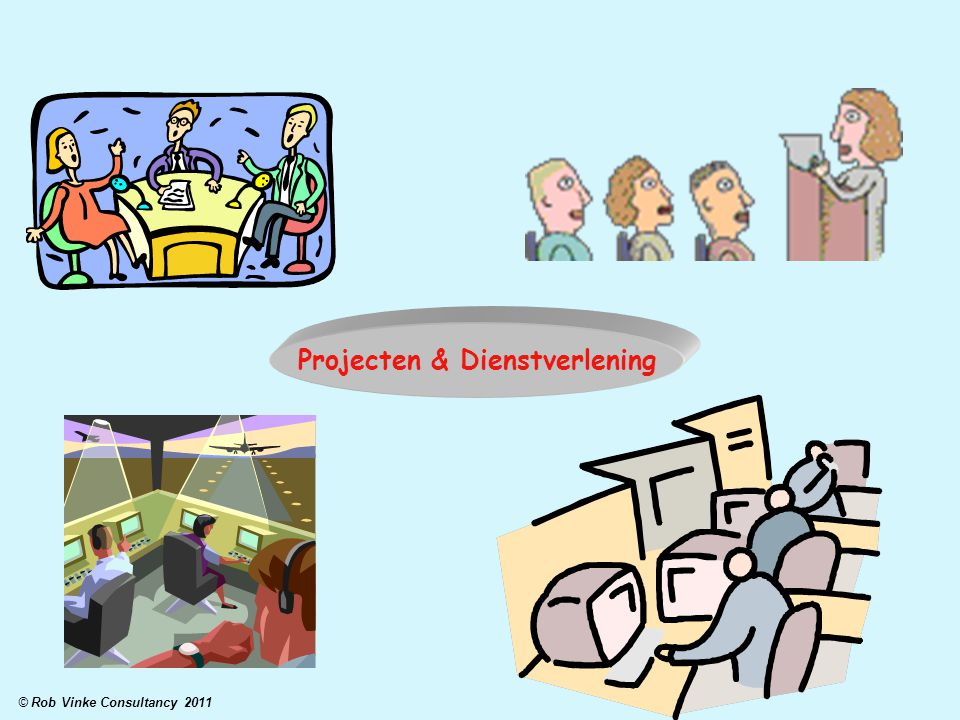 Projecten & Dienstverlening © Rob Vinke Consultancy 2011