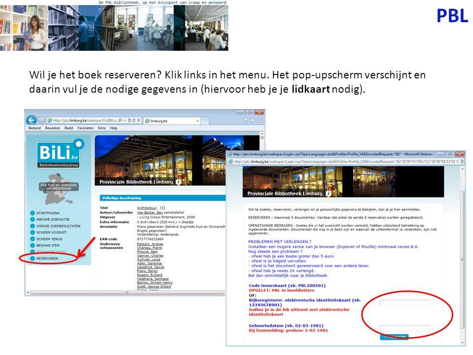 BiLi.be Via deze catalogus kun je ook alle andere bibliotheken raadplegen.