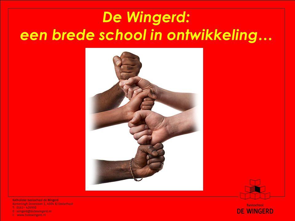 De Wingerd: een brede school in ontwikkeling…