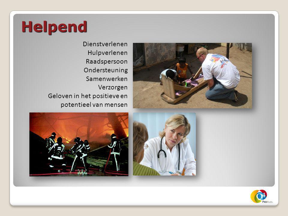Helpend Dienstverlenen Hulpverlenen Raadspersoon Ondersteuning Samenwerken Verzorgen Geloven in het positieve en potentieel van mensen